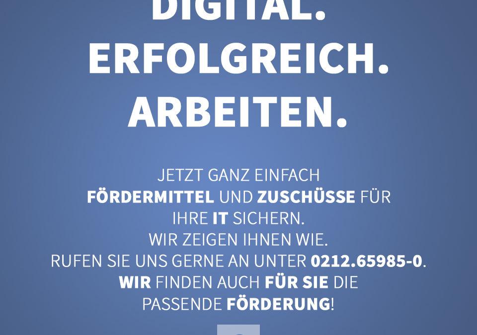 Digitalisierung ist ein wichtiger Bestandteil Ihrer Geschäftsprozesse.